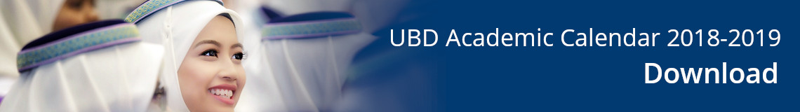 UBD Academic Calendar